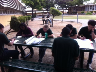 Hayward Week 5 - team at work
